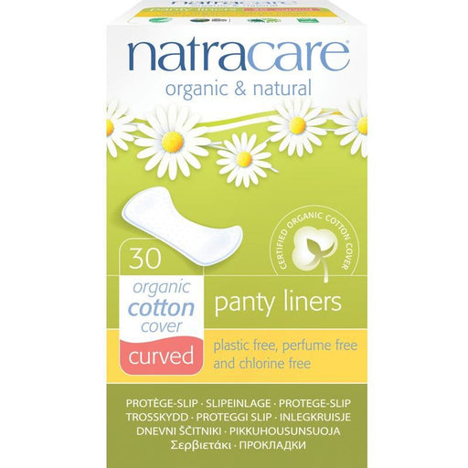 NATRACARE - 30 Protèges-slip naturel coton bio Anatomique
