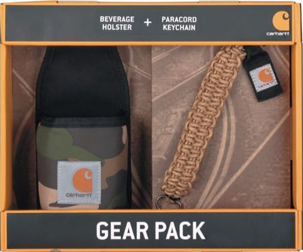 Carhartt Beverage Holster and Paracord Keychain