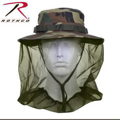 Rothco Boonie Hat with Mosquito Netting -Camo-