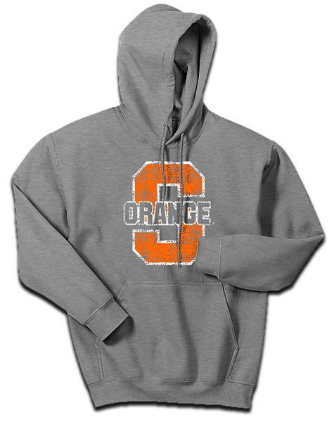 Syracuse Men's Pullover Orange Thru Hoodie