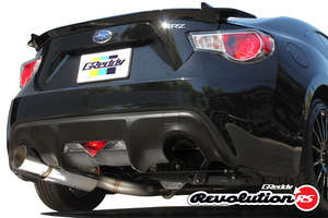 GReddy Revolution RS Catback Exhaust (BRZ/FRS) 2013-2016