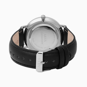 Ethereal Dark - Silver | Black Leather