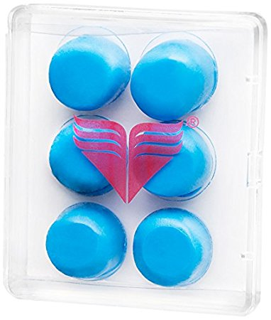 TYR Youth Silicone Ear Plugs - Blue