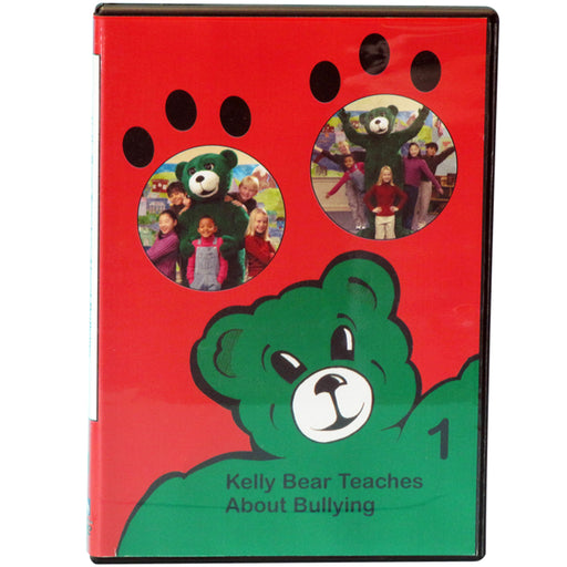 Kelly Bear Teaches About Bullying DVD