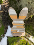April Project #7 - Two Sided Free Standing Cutout Bunny