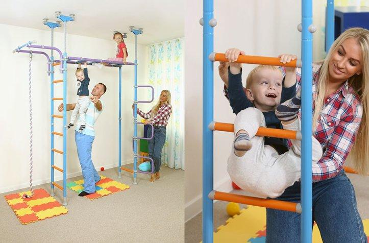 # 1 Indoor Home Playground for Kids in North America