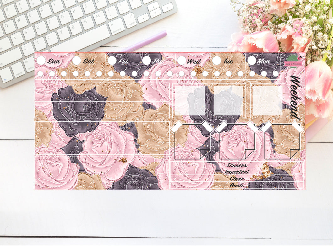Hobonichi - Weekly Kit - Rose Garden