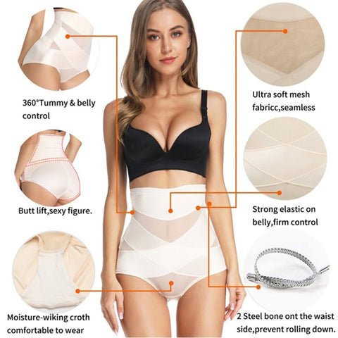Tummy Control High Waist Shapers