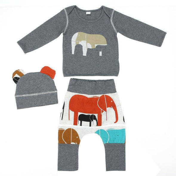 2pcs Toddler Baby Elephant  Clothes