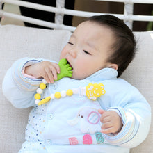 Load image into Gallery viewer, BBBiteMe Pacifier Clip BPA Free Silicone Teether Pacifier Holder-Teething Toy Chain for Boy & Girl