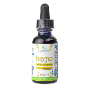 Bluebird Organic Virgin Hemp CBD Oil