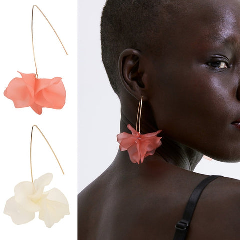 Summer Flower Statement Earrings-Accessories-The Poetic Soul