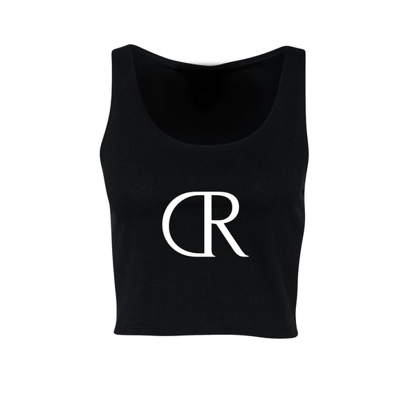 KINGS SUMMER Ladies Crop Tank Black