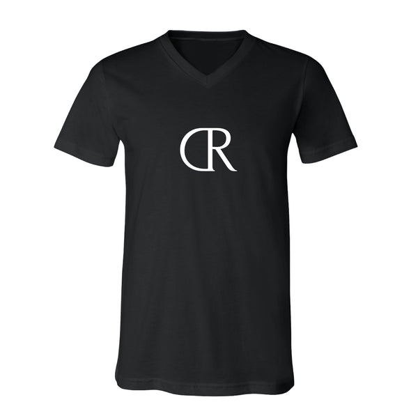KINGS CARTER Mens V-Neck Black
