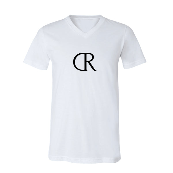 KINGS CARTER Mens V-Neck White