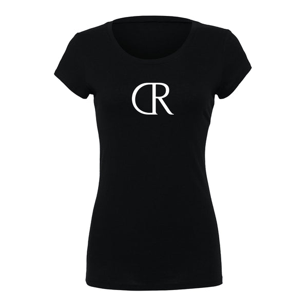 KINGS NOVA Ladies Slim Fit Tee Black