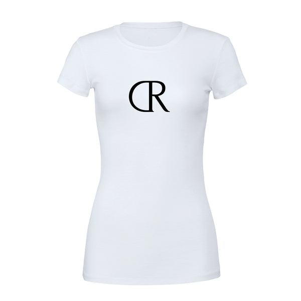 KINGS NOVA Ladies Slim Fit Tee White