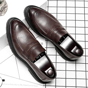 Leather Shoes Men's Loafer Shoes
