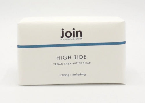 Join high tide vegan soap bar essential oils shea butter made in England for Modern Craft