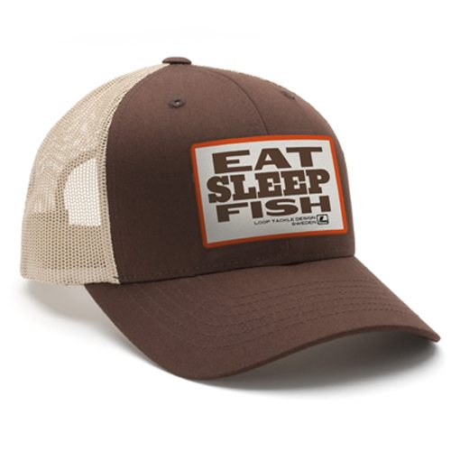 Loop Eat Sleep Fish Hat
