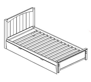 Maxtrix Cottage Bed (w Pullout)