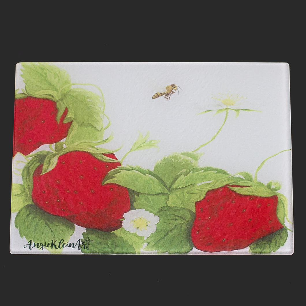 Strawberry Cutting Board
