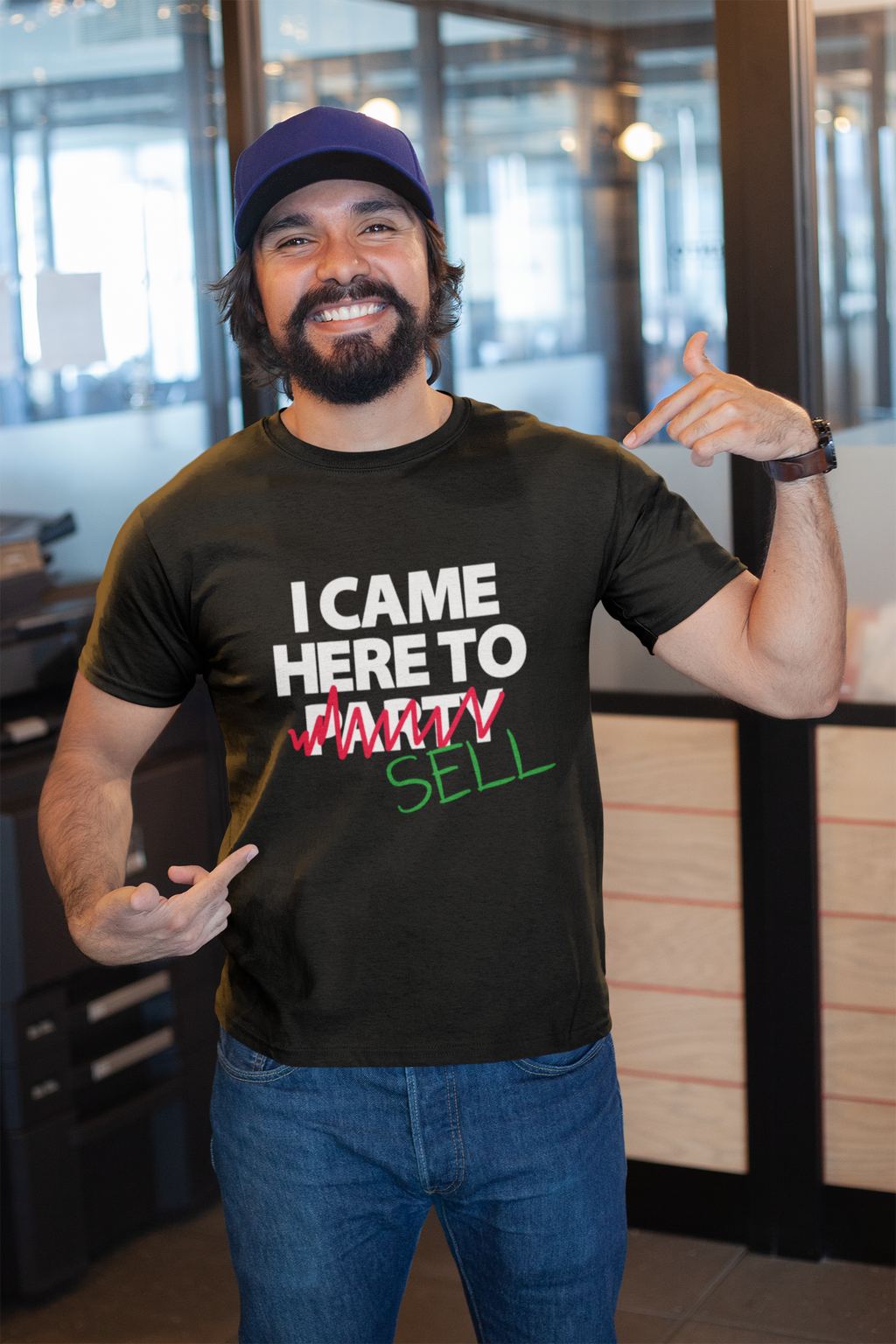 i came here to sell - shirt