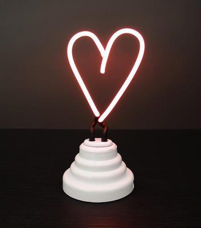 Funderdome USB or Battery Powered Heart Neon Light