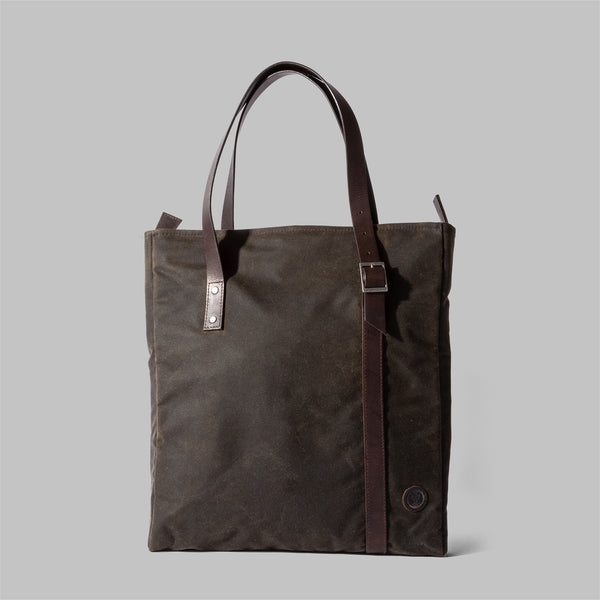 Ladies wax cotton tote bag | Thorndale