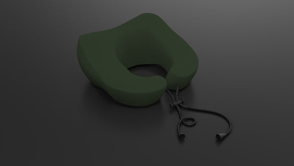 Mile High Travel Pillow - OLIVE