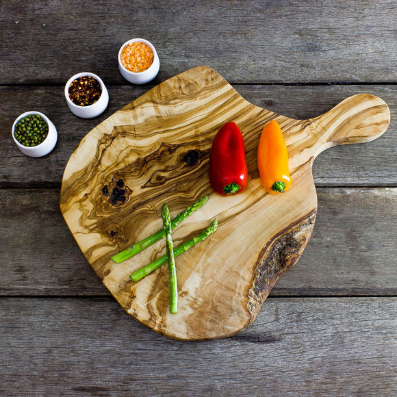 Rustic Wooden 40cm Chopping Board