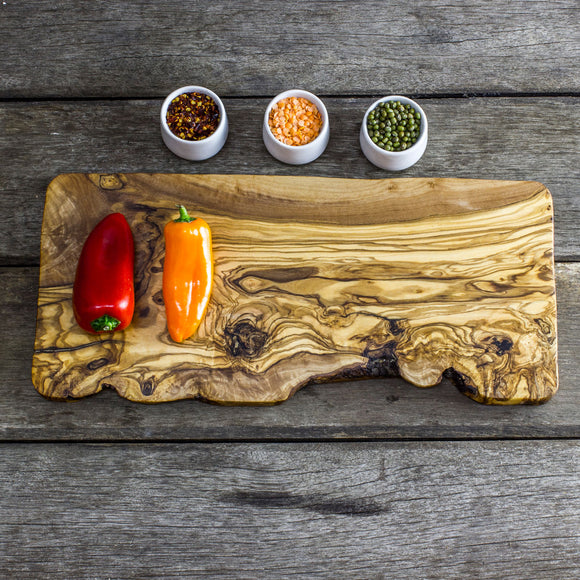 Olive Wood Cheese/Chopping Board - 40 x 17 x 2cm