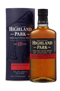 Highland Park 18 Year Old Orkney Single Malt Scotch - The Corkery Wine & Spirits