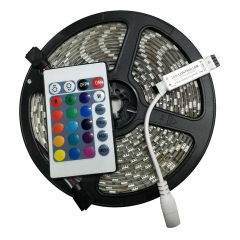 Waterproof LED Strip Lights With Remote Controller