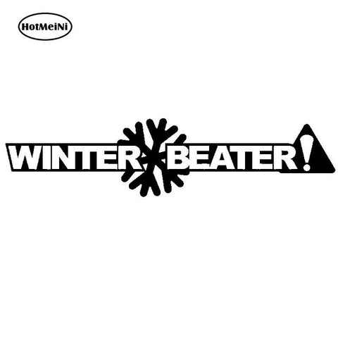 Winter Beater Vinyl Sticker