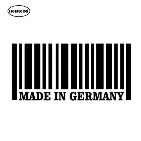 MADE IN GERMANY Vinyl Sticker