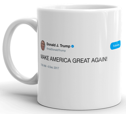 Trump - make america great again