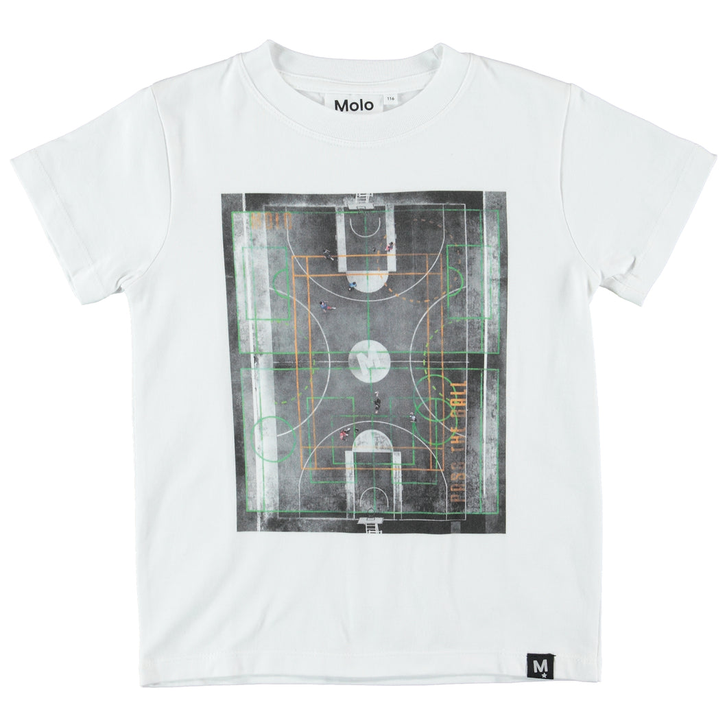 T-shirt Road Basket Court