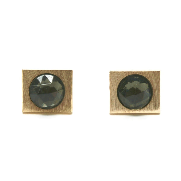 1960s Faceted Glass Cufflinks
