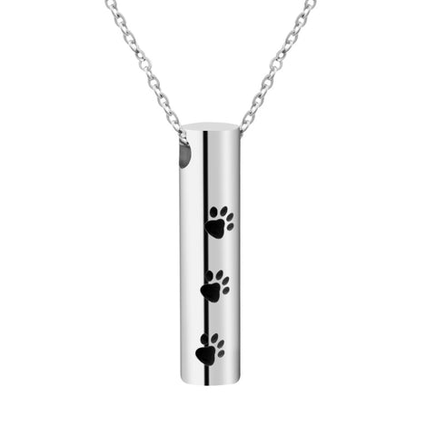 Paw Prints Cylinder
