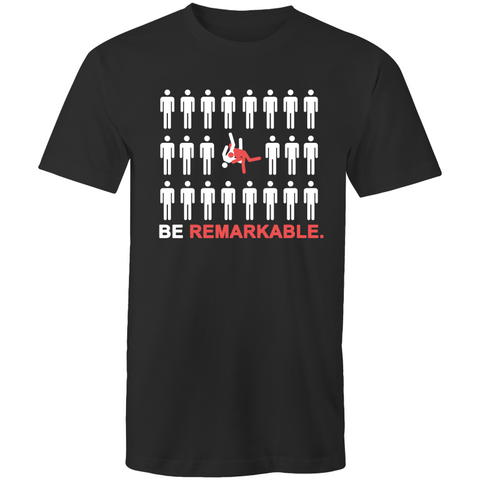 Be Remarkable - High Quality Mens BJJ Longline Tees