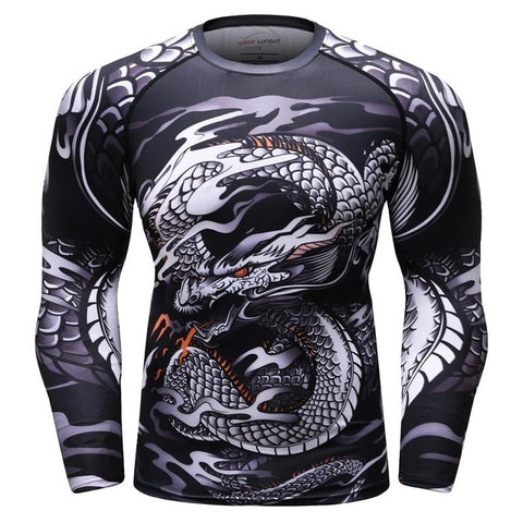Bjj Rash Guard Dragon