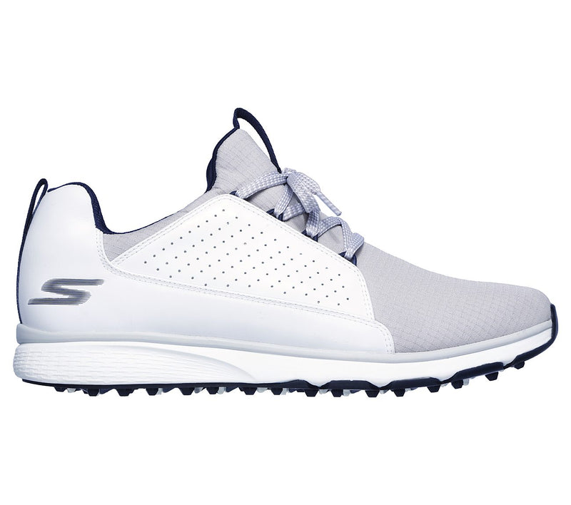 Mens Go Golf Mojo Elite Golf Shoes White/Grey
