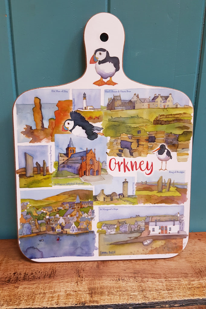 Emma Ball 'Orkney' Mini Chopping Board £7.95