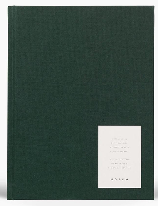 LARGE WEEKLY JOURNAL - GREEN