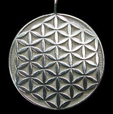 Flower of Life Pendant in Sterling Silver