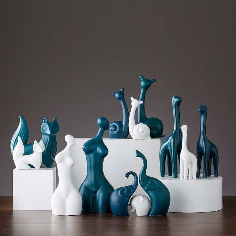 Modern Animal Figurines