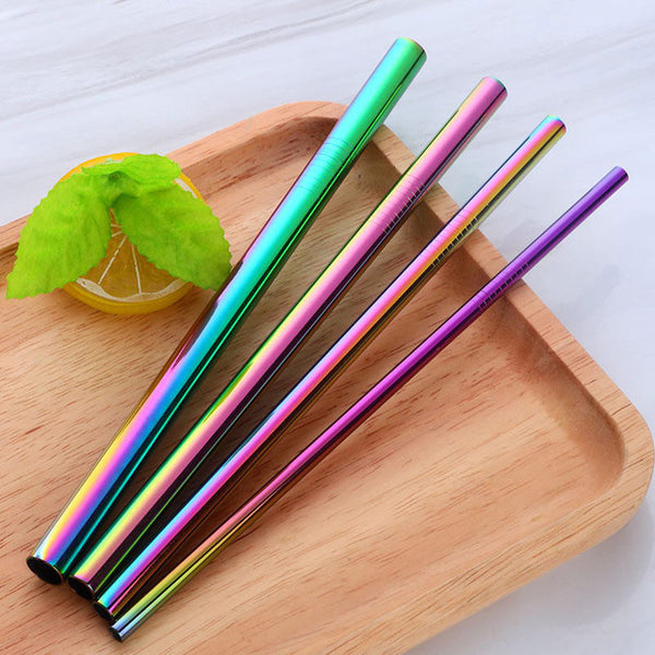 Mixed Size Straws
