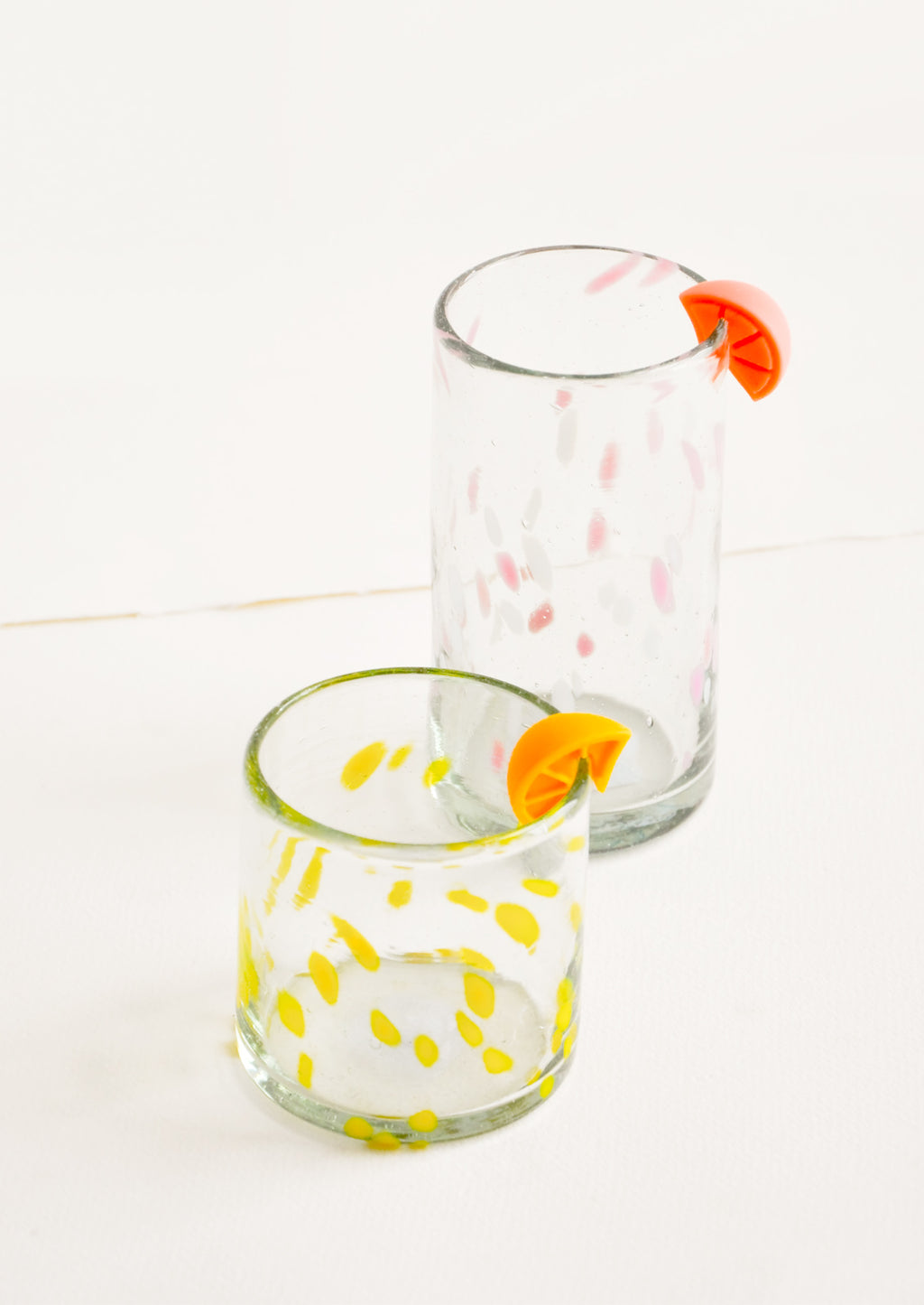 Citrus Slice Drink Markers
