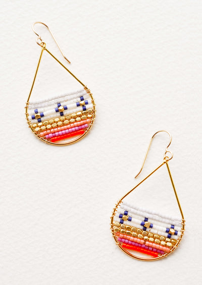 Havana Beaded Earrings